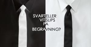 Svart-eller-vit-slips-pa-begravning